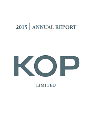 Annual Report FY 2015